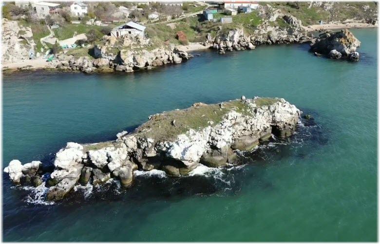 фото Калабатки с высоты
