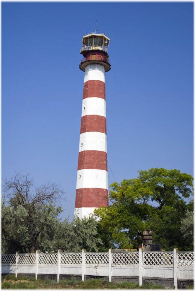 фото маяка в Евпатории