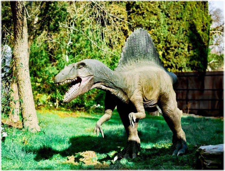 динозавр севастопольского динопарка