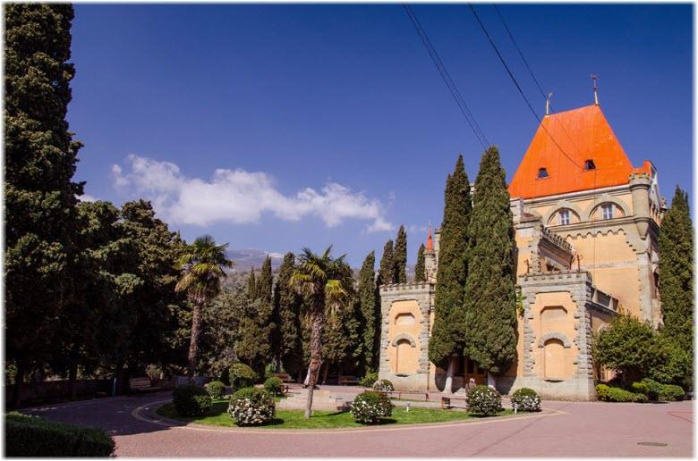 фото дворца Гагариной