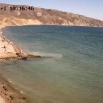 фото с веб-камеры на мысе Ильи