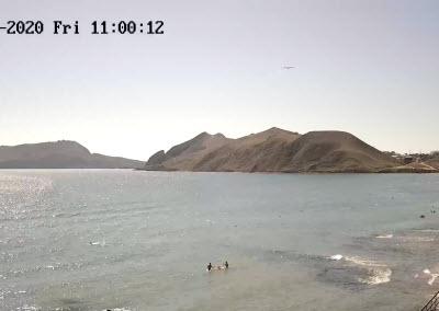 фото с веб-камеры у острова Иван-Баба