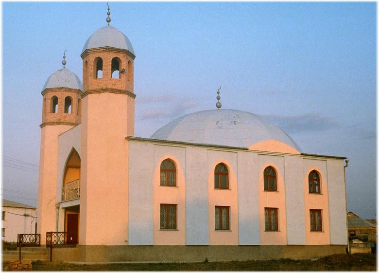 мечеть в Ленино