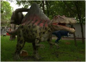 парк динозавров в Севастополе