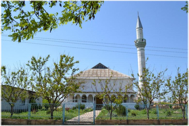 мечеть в Октябрьском