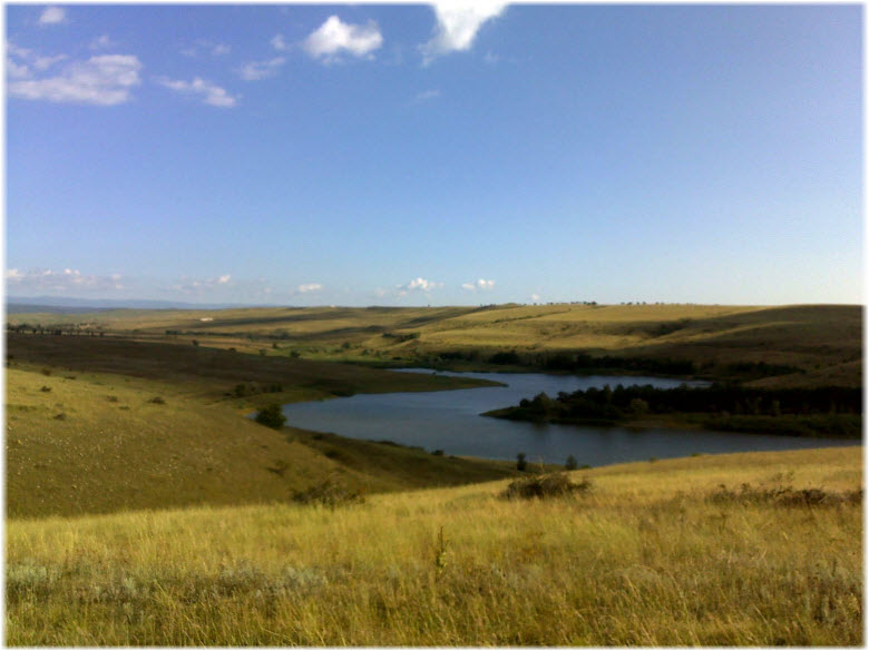 на подходах к озеру Чекур-Эли