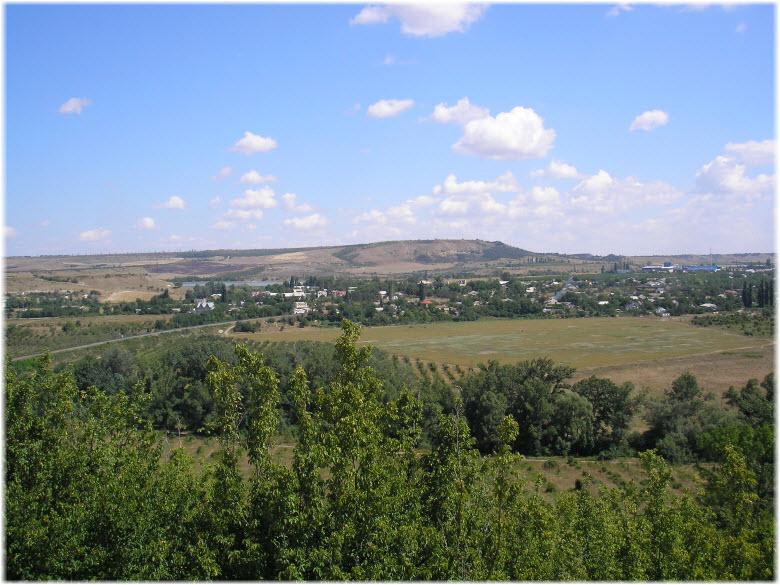 панорама села Почтовое