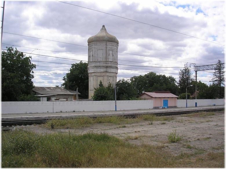 водонапорная башня Почтового