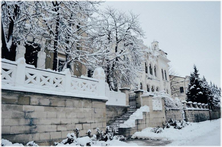 Феодосия зимой