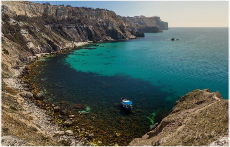 фото бухты Александры