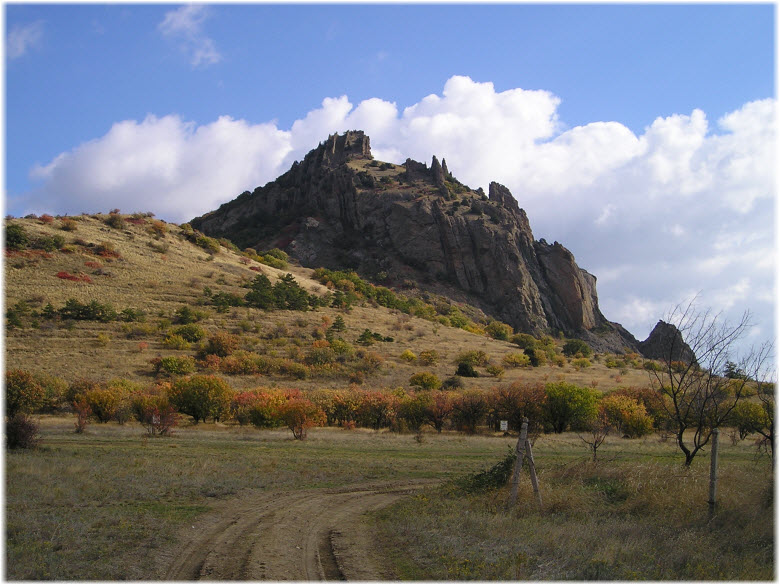 гора Святая на Карадаге