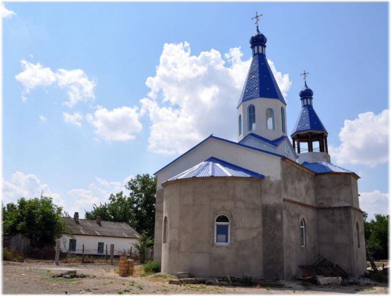 Храм в Нижнегорске