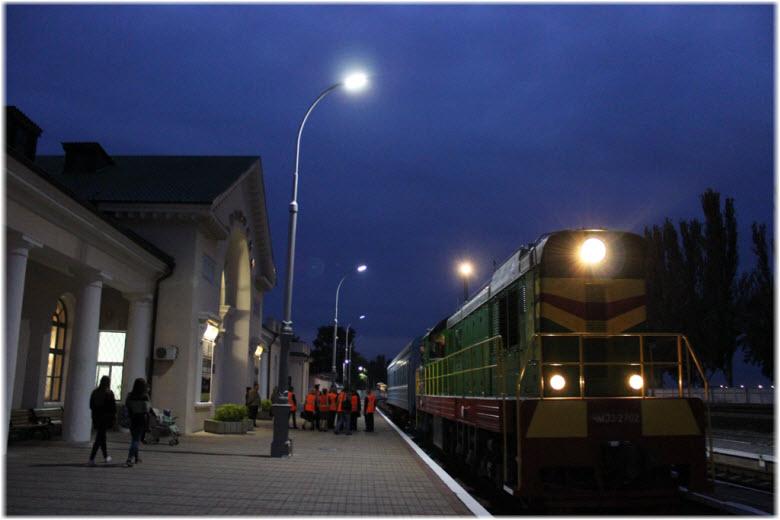ночной вокзал Феодосии
