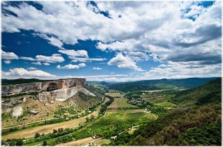 панорама Качинского каньона