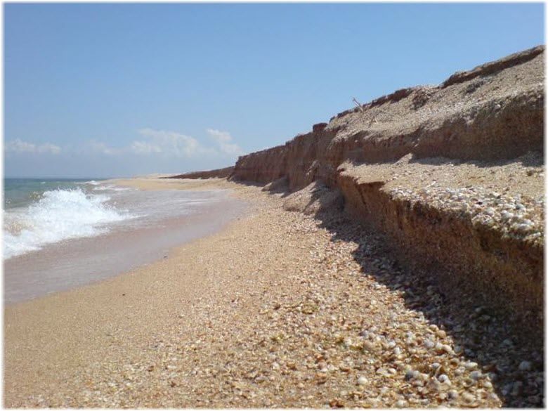 пляжи села Соляное