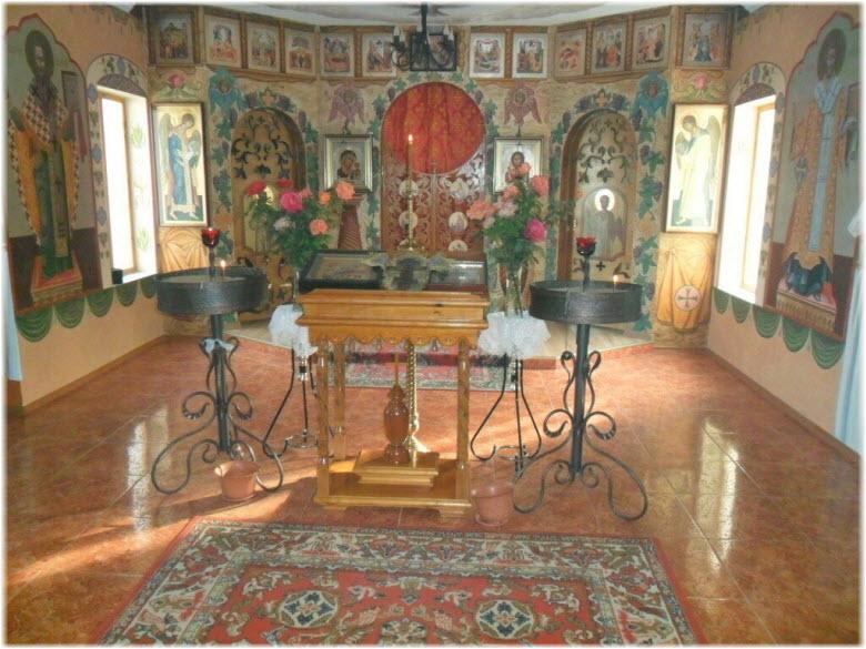 Рождественский храм в Первомайском