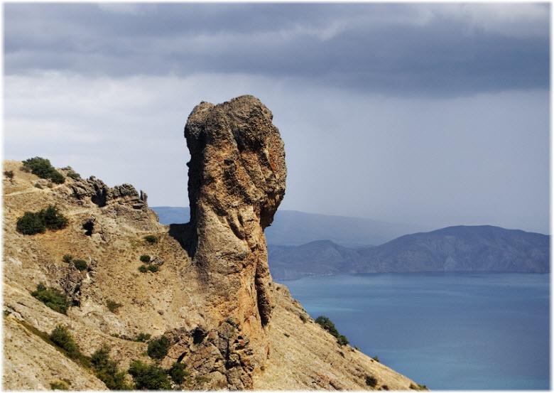 скала Сфинкс в Крыму