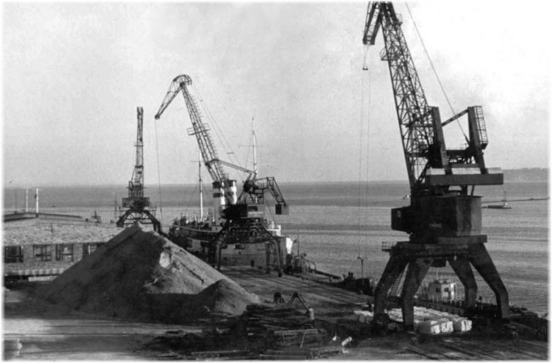 старые фото Керченского порта