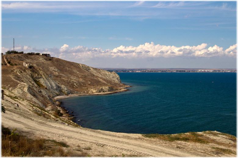 вид на пляж Чумка