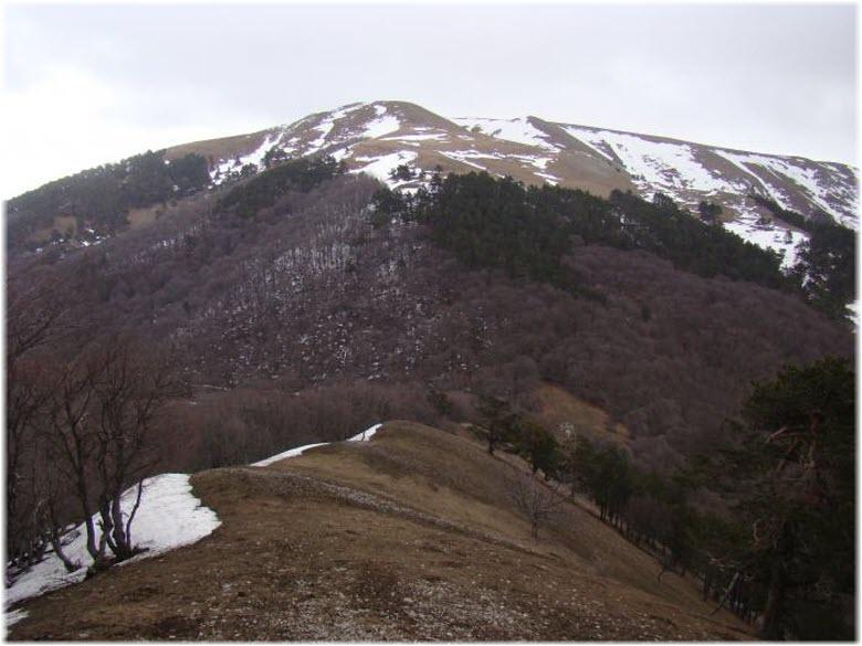 Чучельский перевал зимой