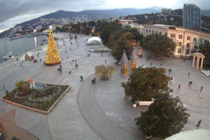 фото с веб-камеры на площади Ленина