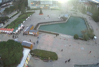 фото с веб-камеры на Советской площади
