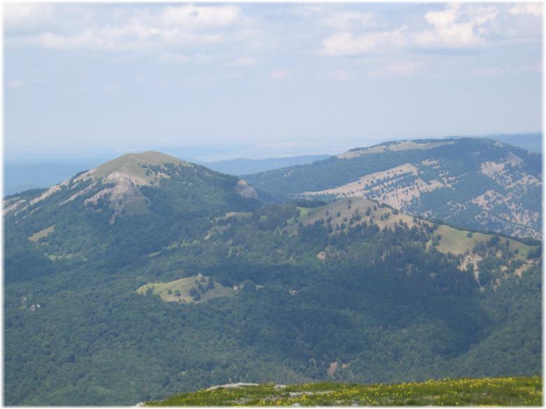 панорама Чучельского перевала