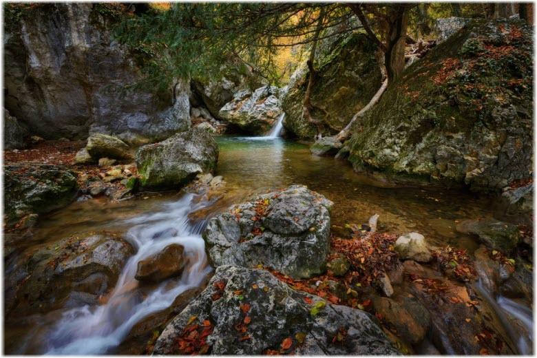 река Коккозка в Большом каньоне