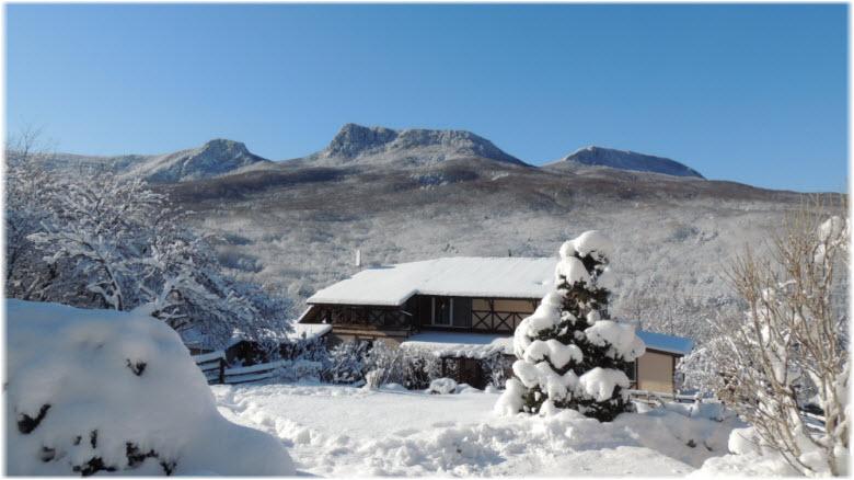зима в Многоречье