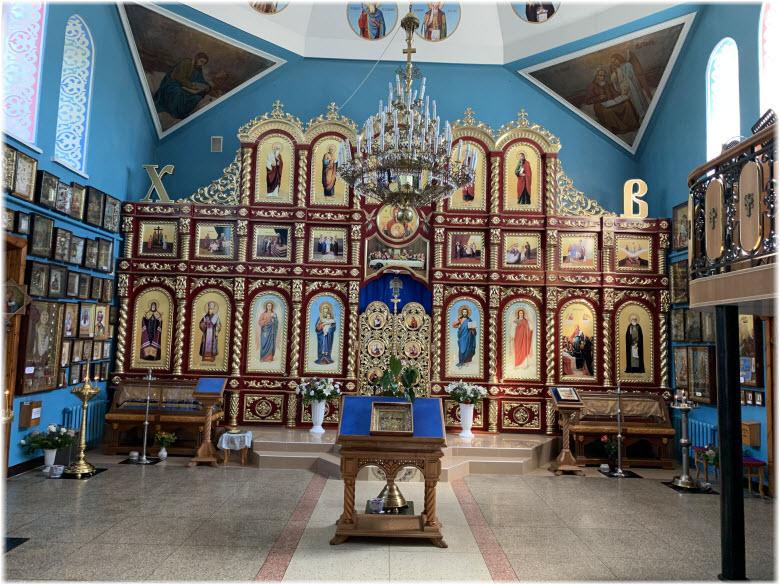 фото внутри Успенского храма