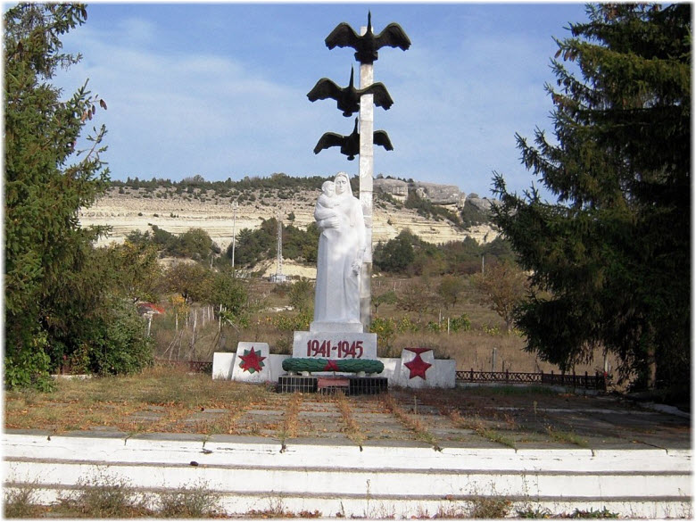 памятник ВОВ в Красном Маке