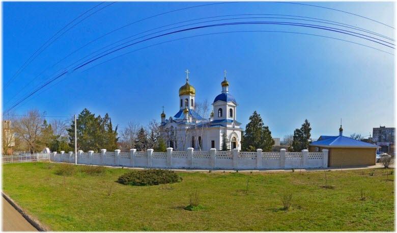 панорама церкви