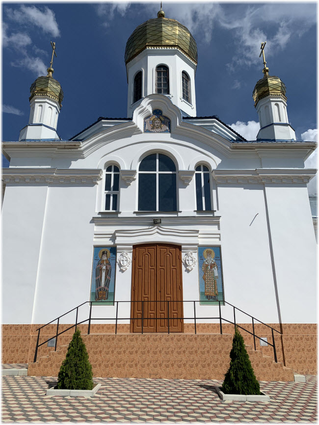входные двери Храма Успения Пресвятой Богородицы