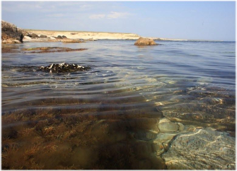 озеро Панское в Крыму