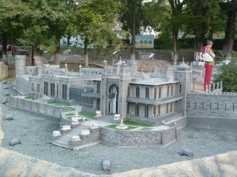 Воронцовский дворец в миниатюре