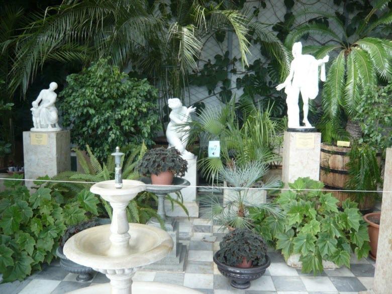 Зимний сад Воронцовского дворца