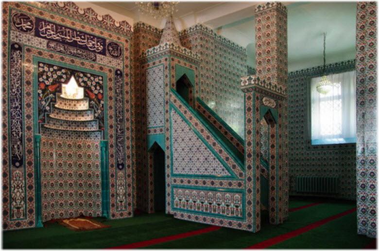 фото внутри мечети