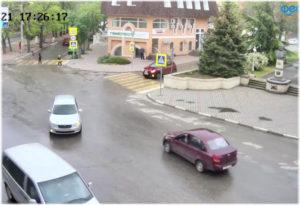 Веб-камера — памятник Соковнину в Феодосии | Крым Онлайн
