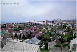 панорама Судака