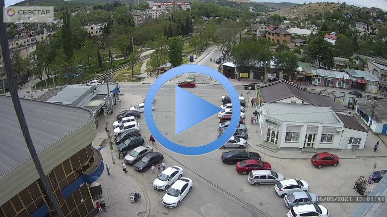 веб-камера у развязки улицы Вокзальная