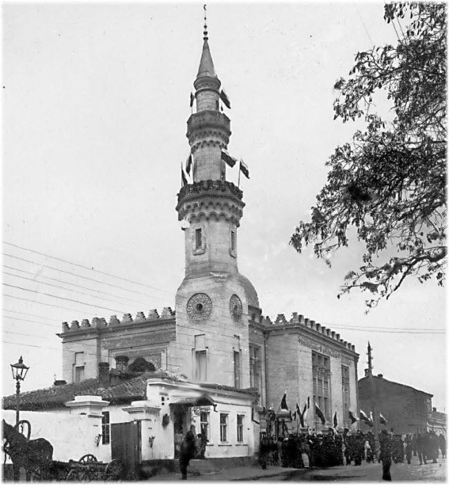 старое фото Севастопольской мечети