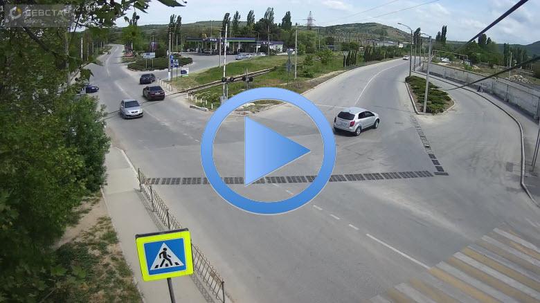 веб-камера на перекрестке Крестовского-Строителей