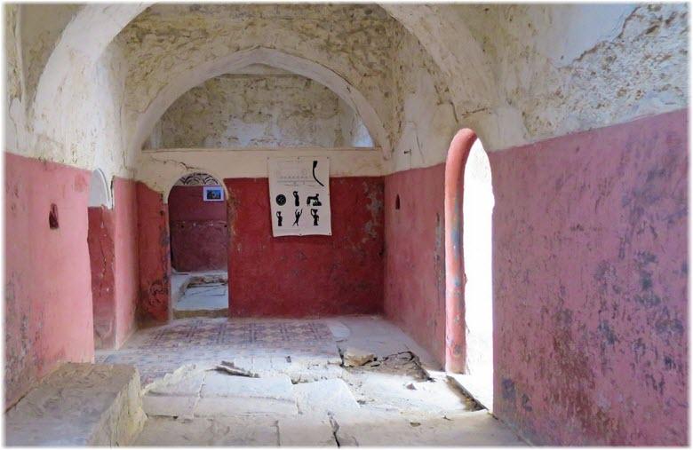 в здании Турецких бань