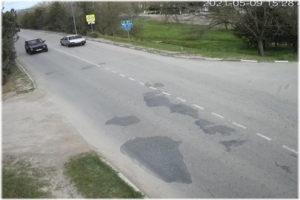 веб-камера у Чкаловского моста