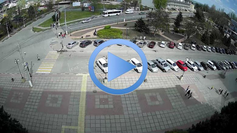 веб-камера в сквере Воссоединения