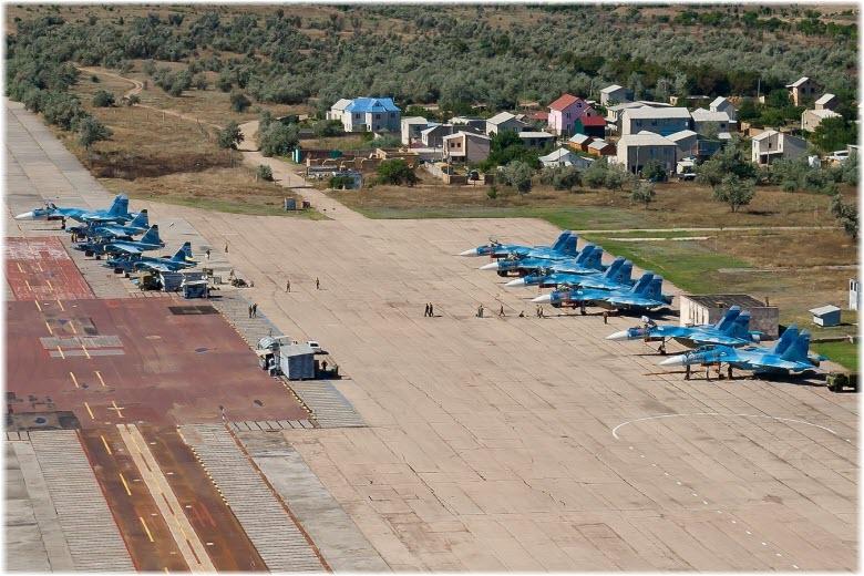 Аэродром в Новофедоровке