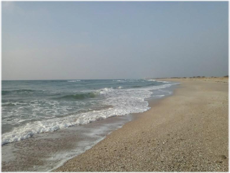 Дикие пляжи окрестностей Штормового