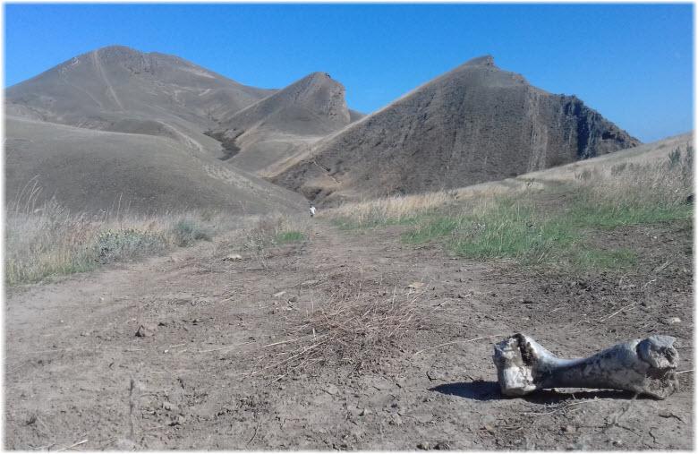 дорога на Джан-Кутаран