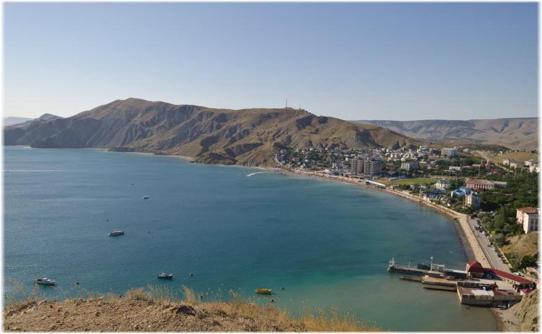 панорама Орджоникидзе и Джан-Кутарана