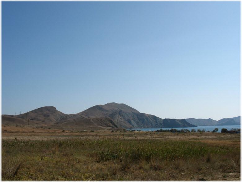 вид горы Джан-Кутаран